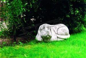 Garten-Deko-Hund-Statue-Skulptur-Figuren-Skulpturen-Designer-Figur-Statuen-227