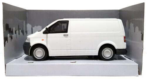 Échelle 1:43 Cararama 4-62540 Volkswagen Transporter T5 Fourgon-Blanc-Entièrement NEUF dans sa boîte