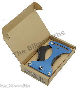 Bicycle Wheel Builders Tool Bike Spoke Tension LED Screen Meter // value chart