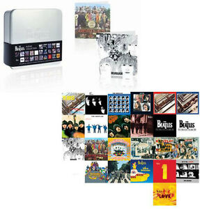The-Beatles-Album-Collection-Greetings-Card-Set-New-Official-In-Sealed-Tin
