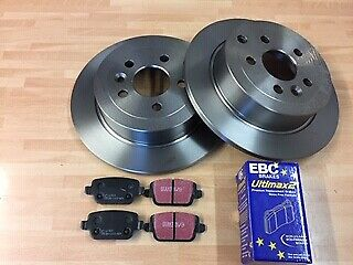 Land Rover Freelander 2 Rear Brake Pad /& Disc Set 2.2 Diesel FK0380