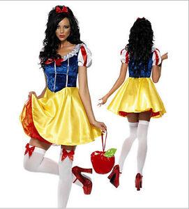 Sexy snow white fancy dress