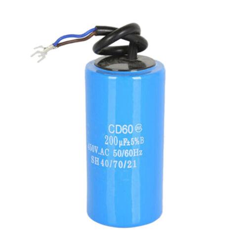 100uf-500uf CD60 450VAC 50 60Hz Motor Anlaufkondensator Start-Kondensator