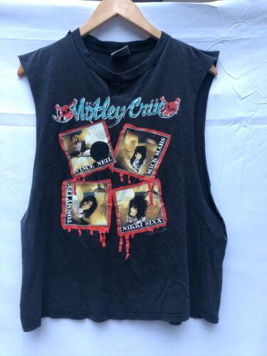 Motley Crue T Shirt Vintage Kick Start
