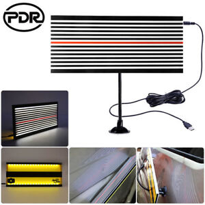 PDR-LED-Light-Dent-Doctor-Line-Reflector-Board-2Side-Paintless-Hail-Removal-Tool