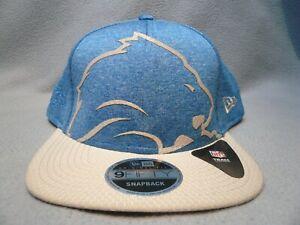 New-Era-9Fifty-Detroit-Lions-Oversized-Laser-Cut-Snapback-BRAND-NEW-hat-cap-NFL