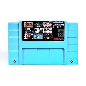 SNES-Super-121-in-1-for-Nintendo-MultiCart-Cartridge-Battery-Save-IMPROVED-LIST