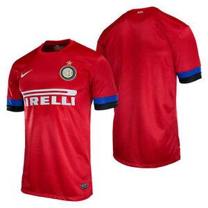 cheaper cc676 5250a Nike Inter Milan 2012-2013 Away Soccer Jersey Brand New Red ...