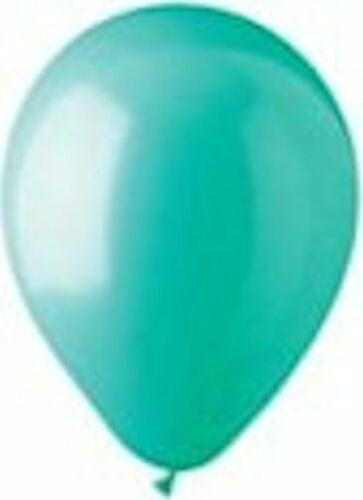 24 pc Aqua Hot Pink Purple Latex Party Balloons Birthday Baby Unicorn Mermaid 8