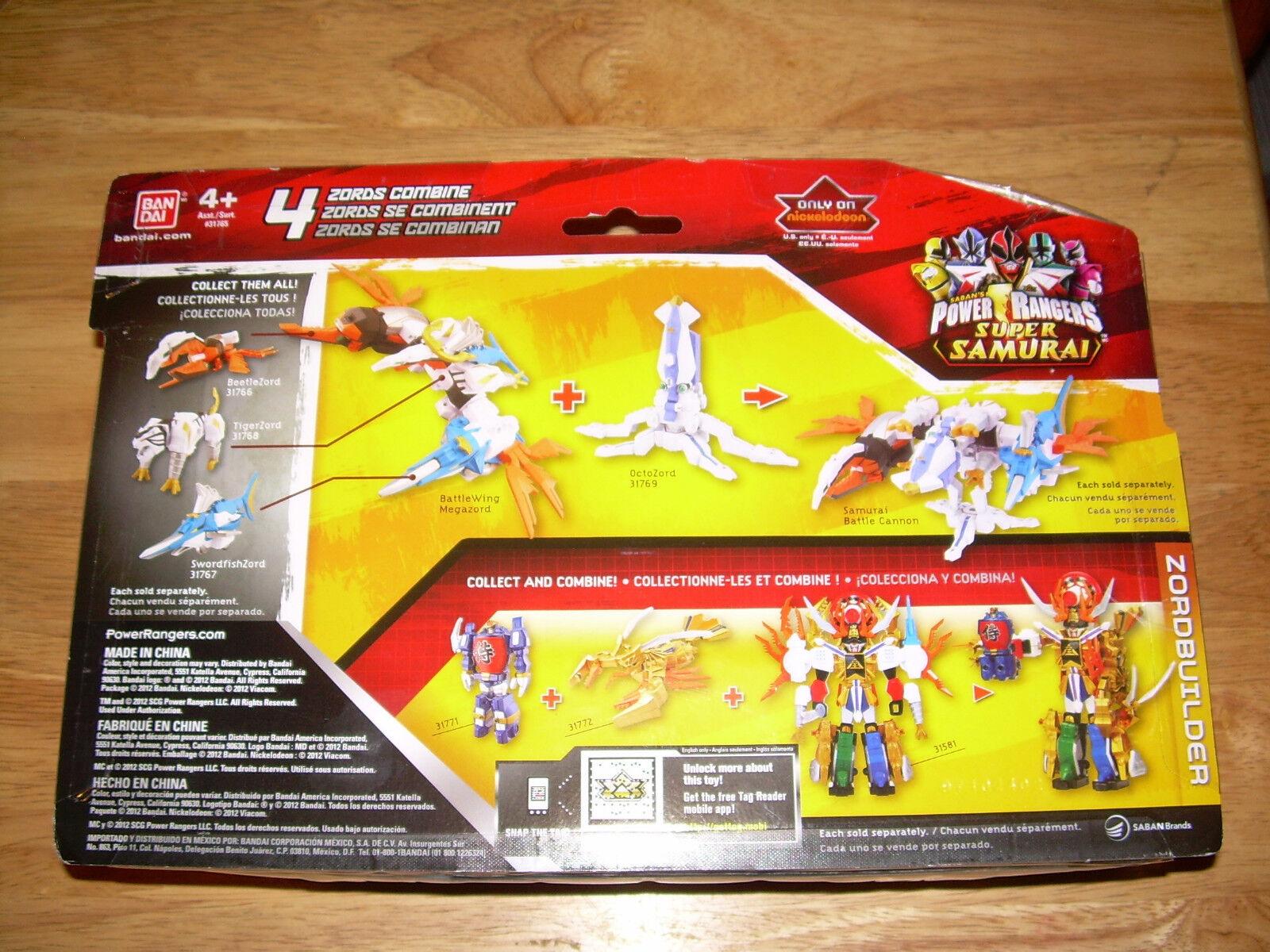 Bandai POWER RANGERS Super Super Super Samurai OCTOZORD & MEGA RANGER Antonio Light Zord c8f540