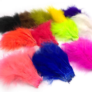 UV2-PREMIUM-SELECT-MARABOU-Fly-Tying-UV-Dyed-Strung-Feathers-Spirit-River-NEW