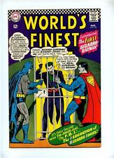 World's Finest Comics #156 - DC 1966 - FN/VFN - 1st Bizarro Batman - Joker App