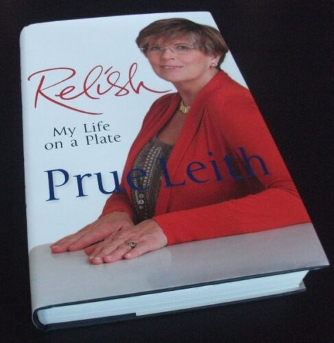 1 of 1 - Prue Leith: RELISH: MY LIFE ON A PLATE.Autobiography. First edition. HB/DJ. 2012