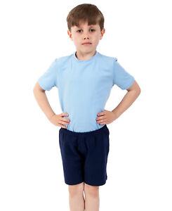 223f48b72f22 Boys Ballet 2pc Cotton Dance T-shirt   Shorts Set RAD Style Black ...