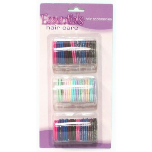 Hair Bands Elastic Hair Bands 50 Assorted Colours Dancing Gymnastic Hair Bands