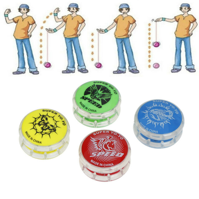 1Pc Magic YoYo ball toys for kids colorful plastic yo-yo toy party gift Fad WA