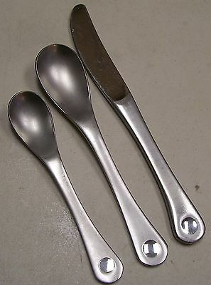 Robert Welch Pendulum Stainless 1 Place Spoon 1 Teaspoon 1 Knife William Welch