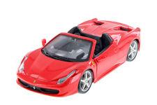 Ferrari 458 Spider 2011 Red 1:24 Model 26017 BBURAGO