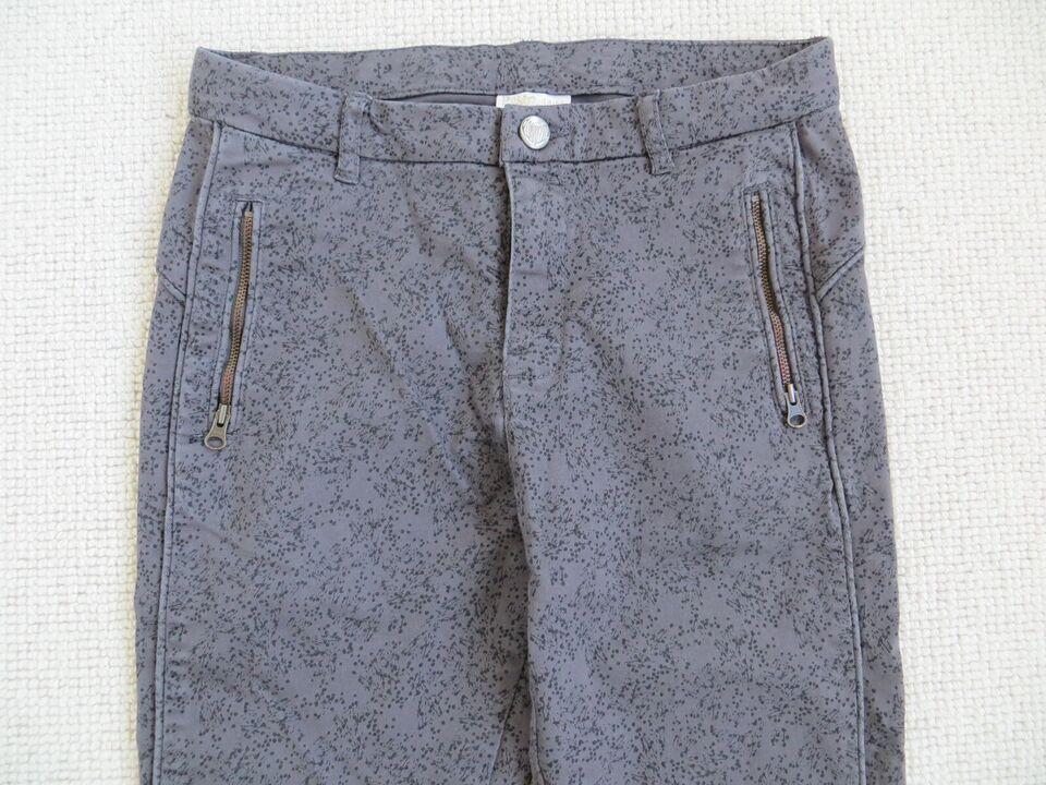 Bukser, meleret brunlige bukser, PompdeLux