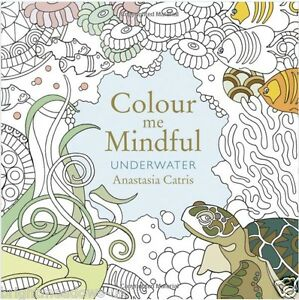 Image Is Loading Underwater Mindful Adult Colouring Book Creative Art Therapy