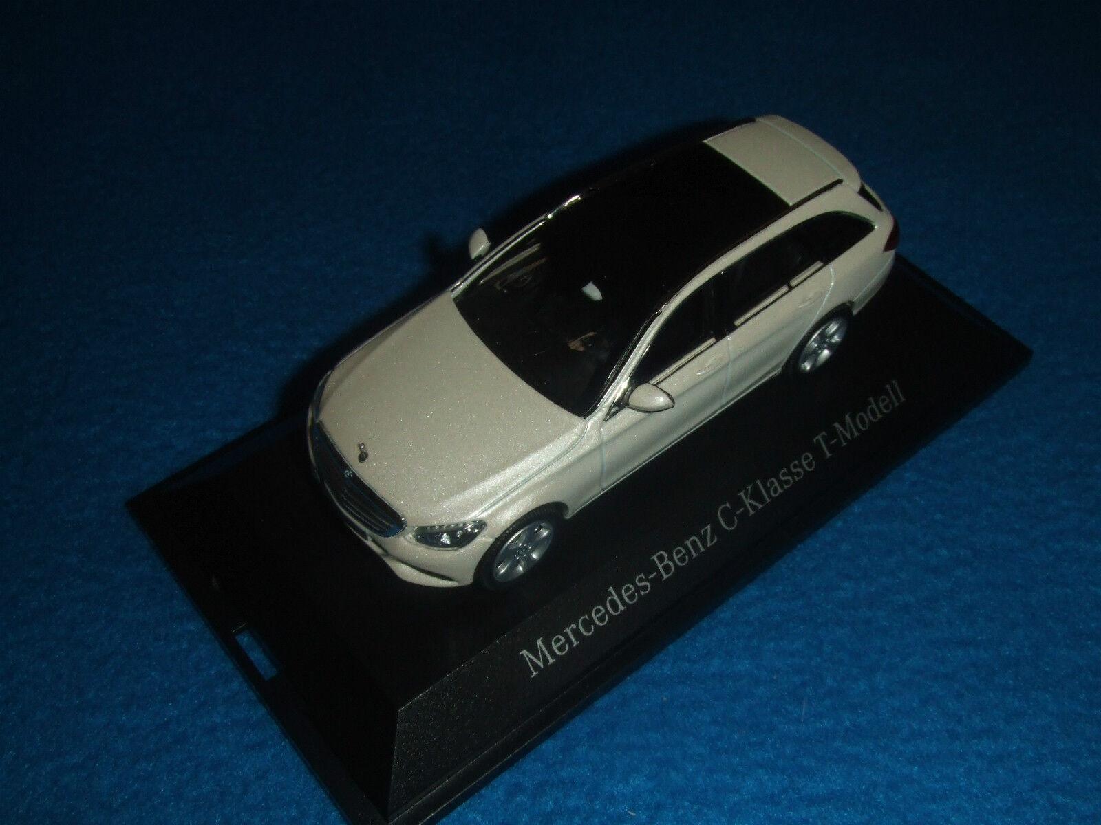 Mercedes Benz S 205 C Classe T Modèle Blanc 1 43 Nouveau neuf dans sa boîte