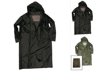 Regenjacke Polyester mit PVC schwarz Größe M