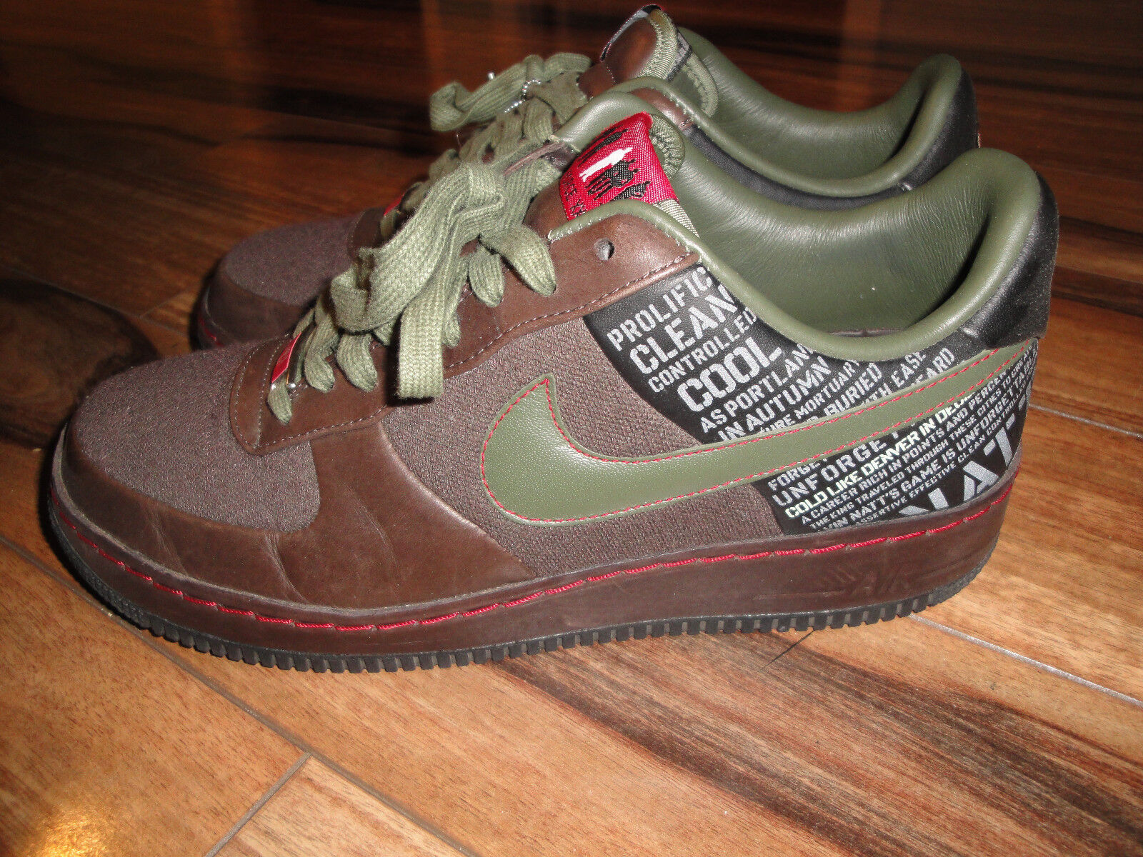 Nike Air Force 1 SPRM '07 Air Force 1 Supreme Size 9.5 Style