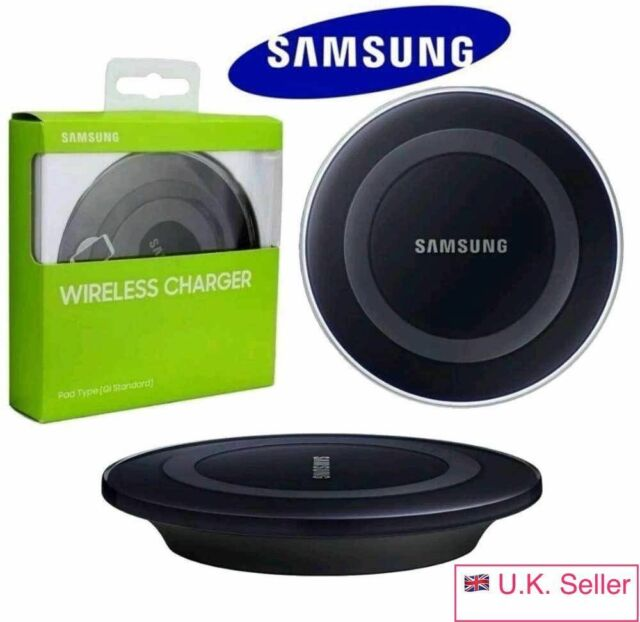 New Samsung Wireless Charger Charging Pad Plate For Galaxy S6 S7 S7+ S8 S8+