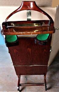 Détails sur Valet de chambre presse pantalon vintage par F.Regutti