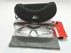 73082b6149 Hilco Leader On Guard Rx Safety OG220 OG 220S Brown 58MM Eyeglass ...