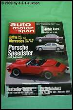 AMS Auto Motor Sport 19/88 * Porsche Speedster Alfa 164 Jaguar XK 220