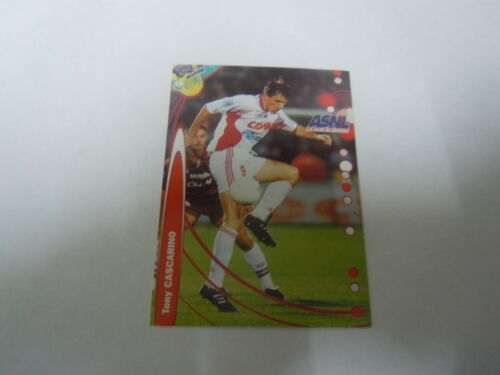 Carte France  Foot 2000 Nancy Tony Cascarino N°151