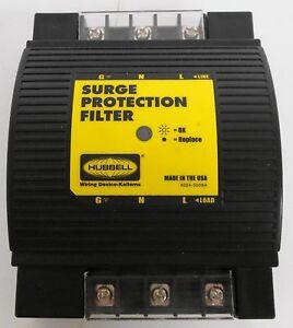 Hubbell HBL1TDR755 Transient Voltage Surge Suppressor 120VAC 50/60/400Hz 5A