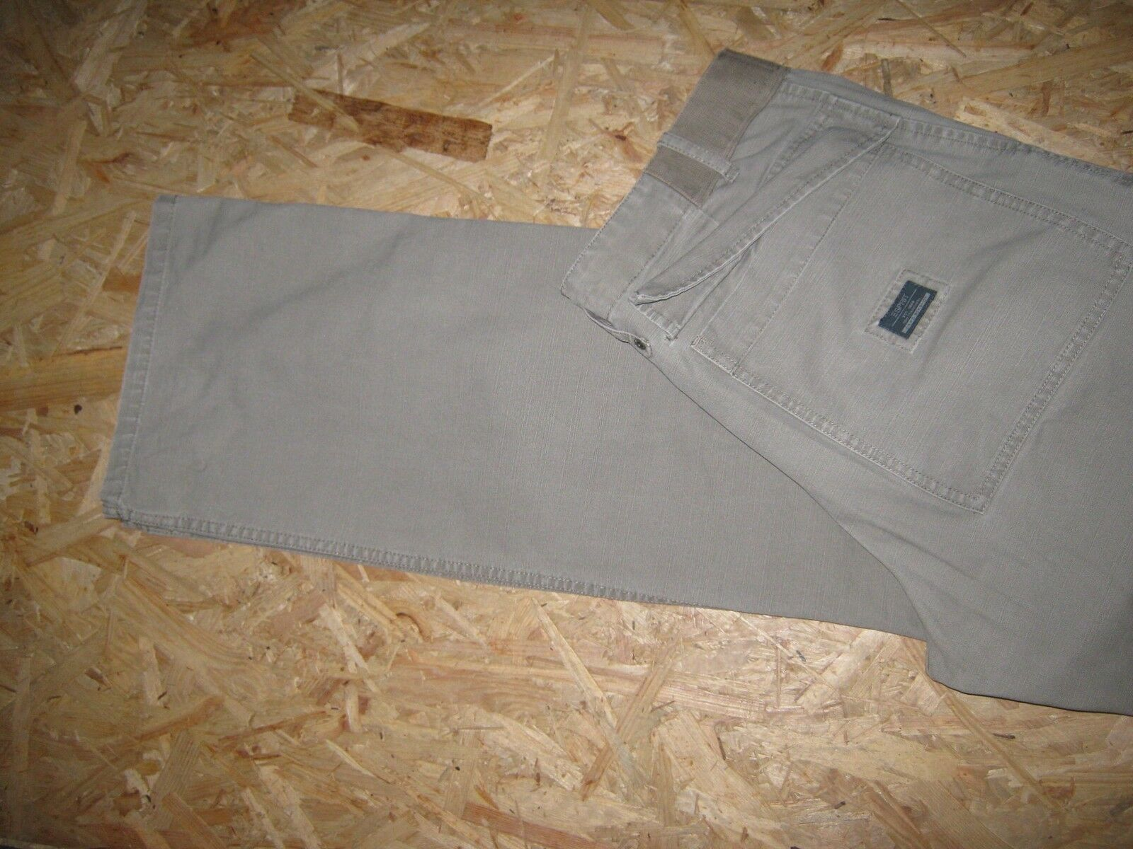 Sportl. Cargo Jeans V. Beige Esprit Taille w32/l34 Beige V. Top! 4de479