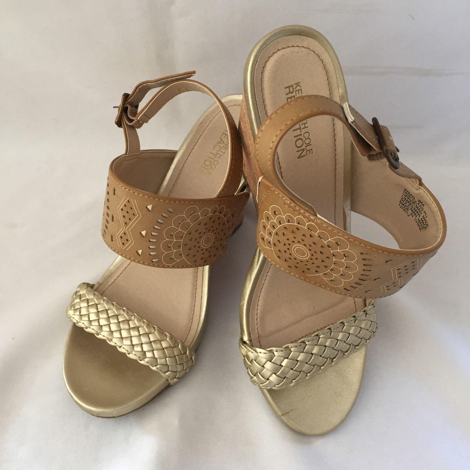 Kenneth Cole Reaction Size Woman's Wedge Sandals - Size Reaction 8M b6851d