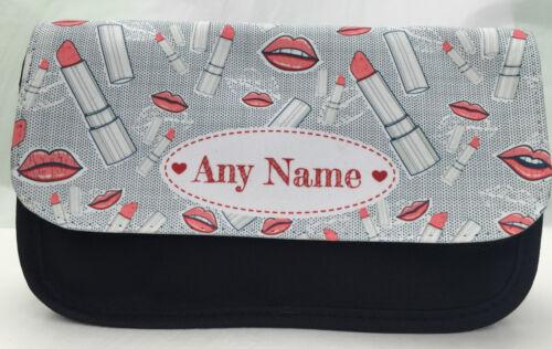 any name Make Up Design Make Up Bag Christmas gift Personalised pencil case