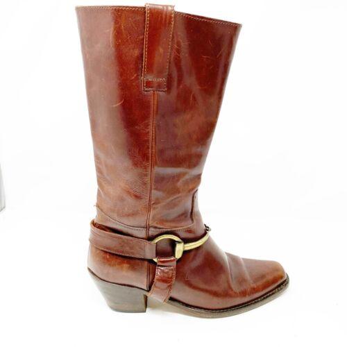 Vintage Joan & David Size 38.5 8.5 brown equestria