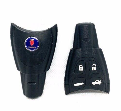 SAAB 9-3 Factory Soft 4 Button Remote Key Fob Shell Case Original QUALITY KIT