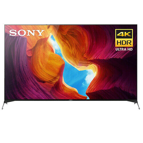 Sony X950H 75 4K ULTRA HD FULL ARRAY LED HDR ANDROID SMART TV, XBR-75X950H, 2020 Model