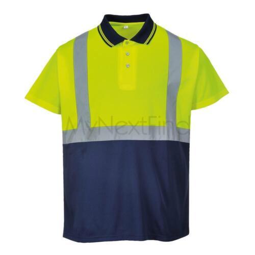 Portwest Hi-Vis Two-Tone Polo Shirt S479