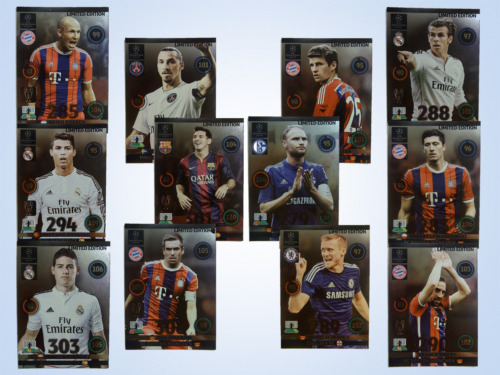Panini Adrenalyn XL Champions League 2014 2015 Limited Edition 14 15 Update CL