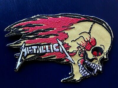 Metallica Rock Music Band Iron Sew on Embroidered Patch #1654