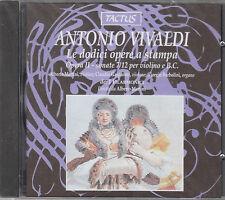 VIVALDI LE DODICI OPERE A STAMPA OPERA II SONATE 7/12 PER VIOLINO E B.C  CD