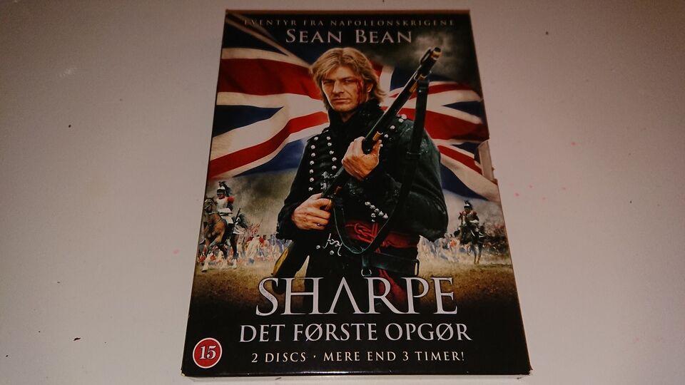 Sharpe - Det første opgør (2 dvd'er), DVD, eventyr