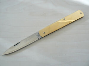 Coltello Sfilato siciliano manico ottone. Frosolone KNIFE messer navaja couteau