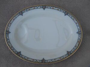 Vintage Theodore Haviland Limoges Rose Pattern Oval Serving Platter ...