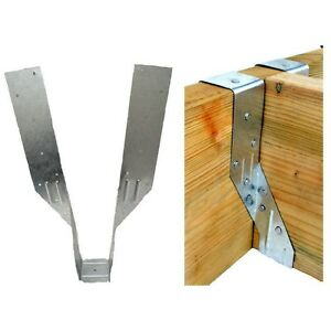 NEW Timber to Timber Joist Hanger Trade Pack 47mm Wide UK SELLER FREEPOST