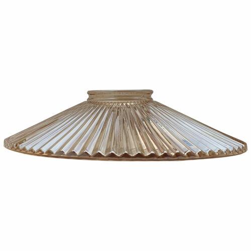 Vintage Industrial Style Abat-jour en verre lampe plafond lumière pendentif rétro éclairage