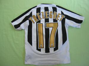 Détails sur Maillot Juventus Trezeguet Fastweb Nike vintage jersey calcio Enfant 12 ans