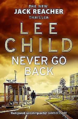 1 von 1 - Never Go Back von Lee Child (2014, Taschenbuch)